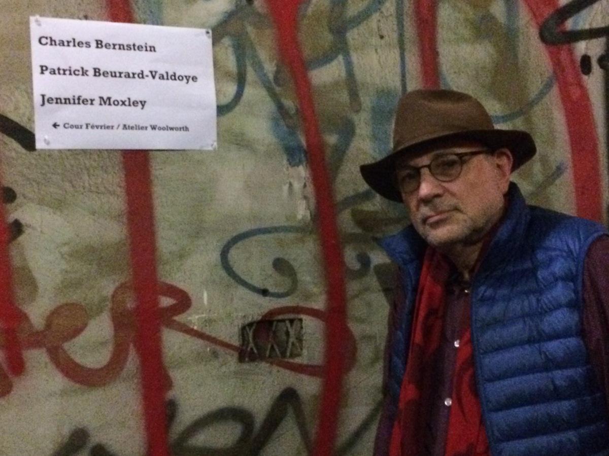 """BACKSTAGE: Charles Bernstein: """"El poema es el jefe""""  / Maurizio Medo"""